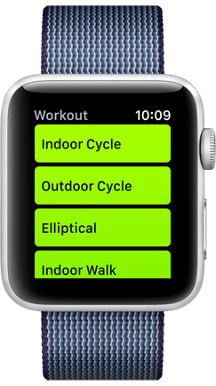 Apple Watch Workout App Product Image
