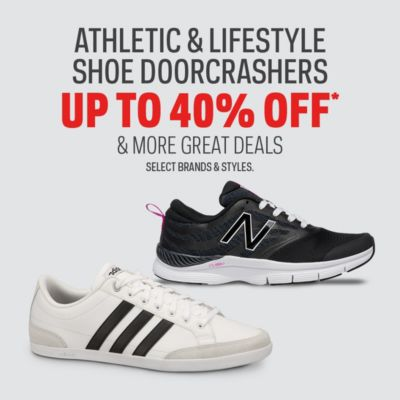 Athletic & Lifestyle Shoe Doorcrashers Up to 40% Off