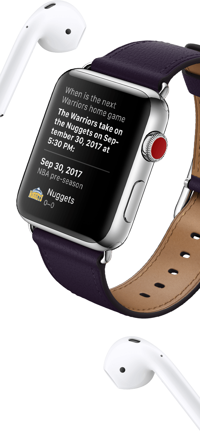 Apple Watch Series 3 Siri All Day Assistant Feature Image