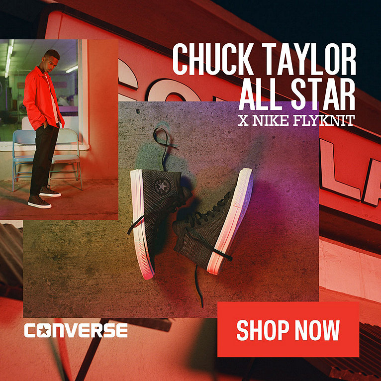 Converse Chuck Taylor All-Star X Nike Flyknit Shoe Collection