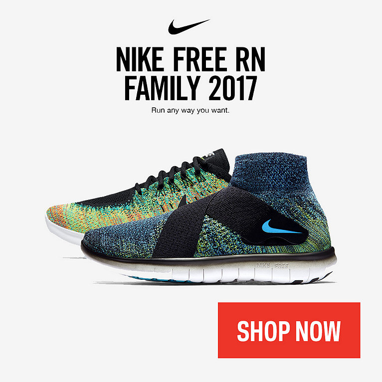 Nike Free RN 2017 Running Shoe Collection