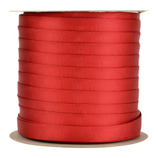 Sterling 1 Inch Tubular Webbing 1 m - Red