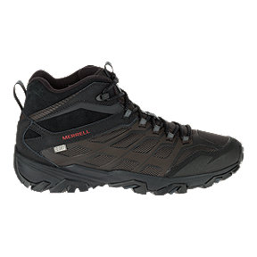 Merrell Men's Moab FST ICE+ Thermo Waterproof Winter Boots - Black