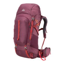 McKINLEY Women's Yukon 60L Backpack - Red Wine