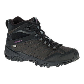 Merrell Women's FST Ice+ Thermo Hiking Boots - Black/Berry