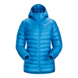 Arc'teryx Women's Cerium LT Down Hooded Jacket - Baja