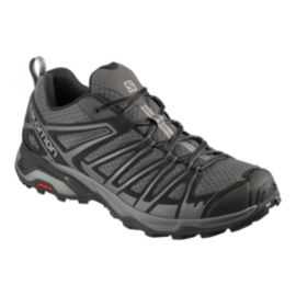 Salomon Men's X Ultra 3 Prime Hiking Shoes - Magnet/Black
