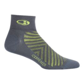 Icebreaker Men's Run + Lite Mini Socks