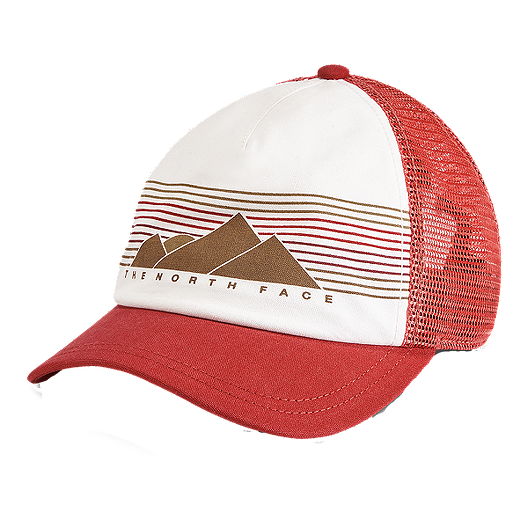 d0152bc2 The North Face Women's Low Pro Trucker Hat - Sunbaked Red | Atmosphere.ca