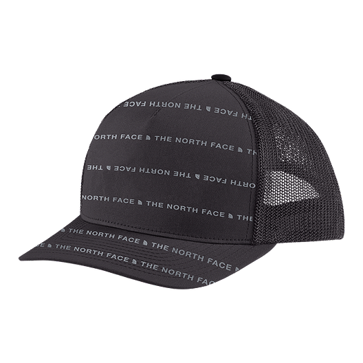 5a2953f406c The North Face Men s Keep It Structured Trucker Hat - Weathered Black Mid  Grey