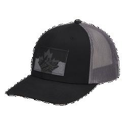 Columbia Men s Mesh Snapback Hat - Black Canadian Rockies ... 7c5ba120023
