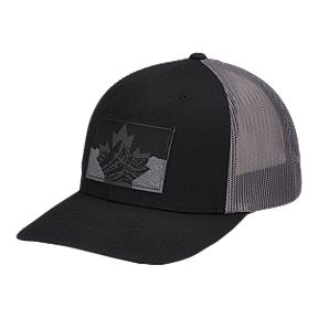f722cbdd65 Columbia Men's Mesh Snapback Hat - Black Canadian Rockies
