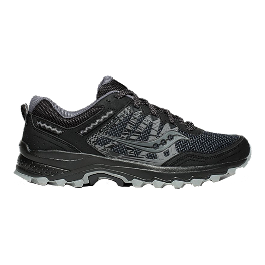 44a66c7cb1 Saucony Men's Excursion TR12 Trail Running Shoes - Black | Atmosphere.ca