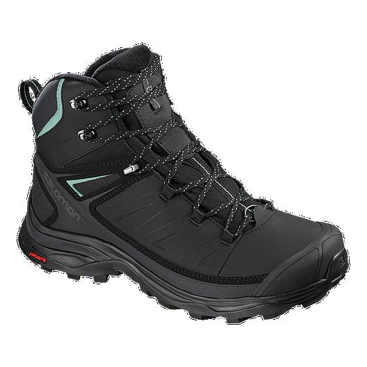 Salomon Women's X Ultra Mid ClimaShield Waterproof Winter Boot Black