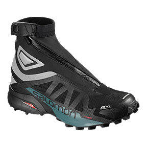 Salomon Men's Snowcross 2 CSWP Trail Running Shoes - Black/Blue