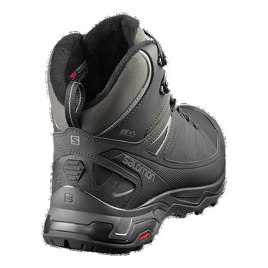 new product c6006 87691 Salomon Men's X Ultra Mid ClimaShield Waterproof Winter Boot - Black