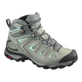Salomon Women's X Ultra 3 Mid Gore-Tex Hiking Boots - Shadow/Gray