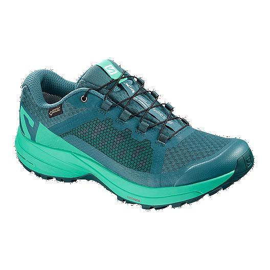 Salomon XA Elevate GTX W chaussures trail turquoise