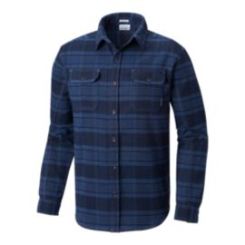 Columba Men's Deschutes River Flannel Shirt - Navy