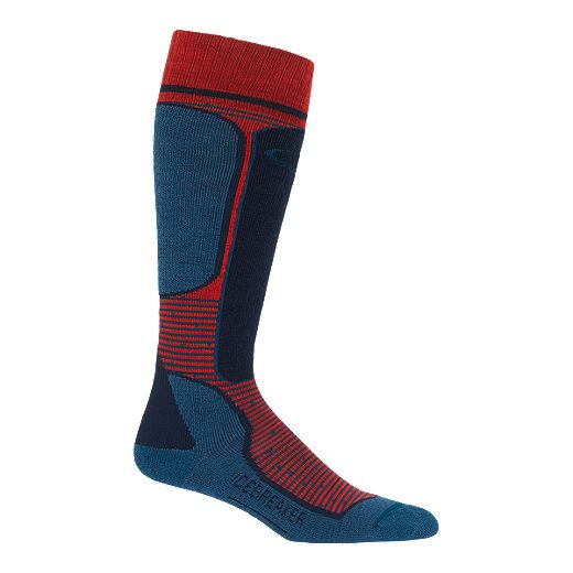 Icebreaker Men's Ski+ Light Cush Over The Calf Socks