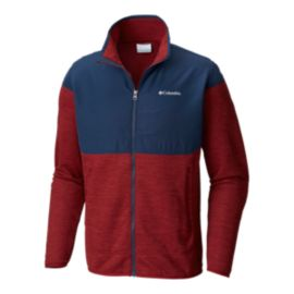Columbia Men's Birch Woods II Full Zip Jacket - Red