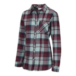 Columbia Women's Simply Put II Flannel Shirt - Wine