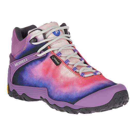 e38557586a Merrell Women's Chameleon 7 Storm Mid Gore-Tex Hiking Boots - Purple |  Atmosphere.ca