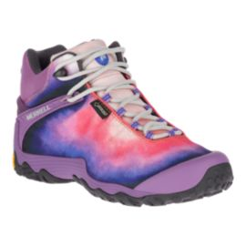 Merrell Women's Chameleon 7 Storm Mid Gore-Tex Hiking Boots - Purple