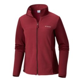 Columbia Women's Warm And Toasty Fleece Top - Wine