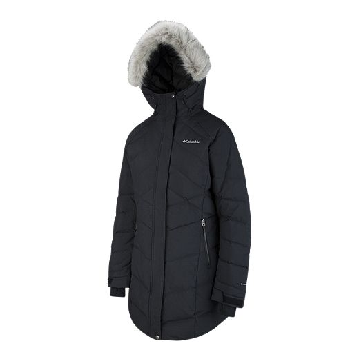COLUMBIA WOMEN'S LAY'D'DOWN O/H PARKA F20- BLK