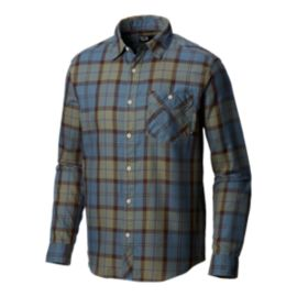 Mountain Hardwear Men's Franklin Long Sleeve Shirt - Machine Blue