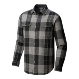 Mountain Hardwear Men's Walcott Long Sleeve Shirt - Manta Grey