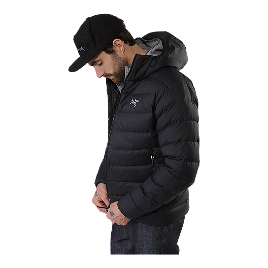 look for another chance hot sale Arc'teryx Men's Thorium AR Hooded Down Jacket - Black