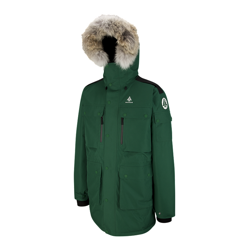 9b5558a9f1 Woods Men s Alverstone Iconic Expedition Down Parka