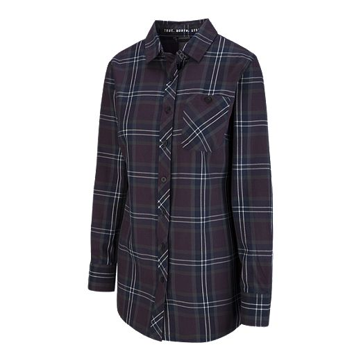 Woods Women's Chutine Flannel Tunic - Plum Perfect