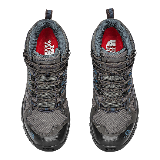 ca7c62b3625 The North Face Men's Hedgehog Fastpack Mid GTX Hiking Shoes - Grey/Blue