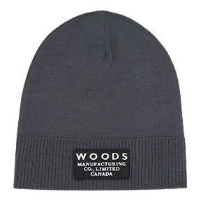 8e529dd9096 Woods Kennedy Foldover Knit Beanie - Black