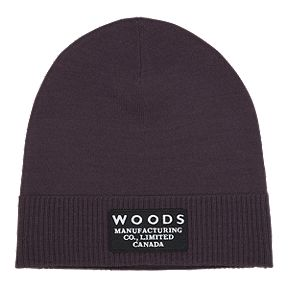 e3a974af Woods Kennedy Foldover Knit Beanie - Plum Perfect