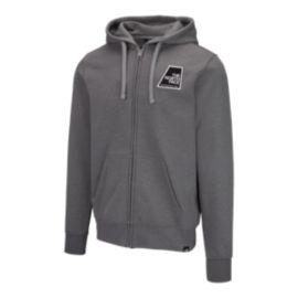The North Face Men's Full Zip Patches Hoodie - Medium Grey
