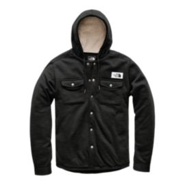 The North Face Men's Sherpa Patrol Snap Up Hoodie - Black Heather