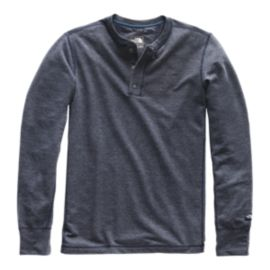 The North Face Men's Terry Henley Long Sleeve Top - Urban Navy