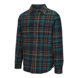 The North Face Men's Long Sleeve Arroyo Flannel Shirt - Urban Navy