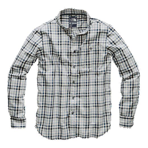 e0d116b53093 The North Face Men's Hayden Pass 2.0 Long Sleeve Shirt - Urban Navy - URBAN  NAVY