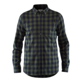 Fjallraven Men's Ovik Check Shirt - Deep Forest