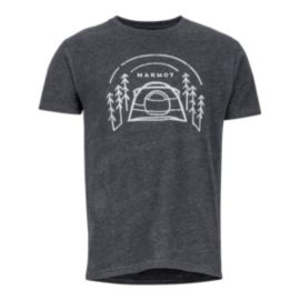 Marmot Men's Camp Outdoor T Shirt - Charcoal