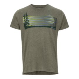Marmot Men's Verge T Shirt - Olive
