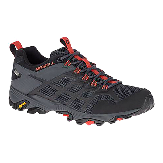 b6efcfa562 Merrell Men's Moab FST 2 WP Hiking Shoes - Black