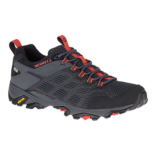 Merrell Men's Moab FST 2 WP Hiking Shoes - Black
