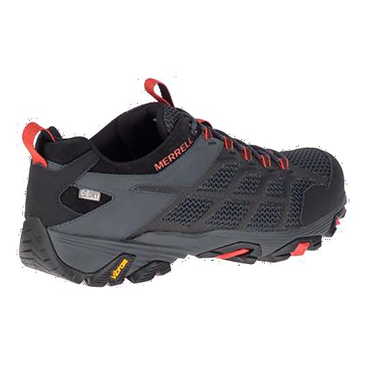 7866bd6805b78 Merrell Men's Moab FST 2 WP Hiking Shoes - Black