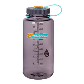 Nalgene 32 oz Wide Mouth Aubergine Water Bottle